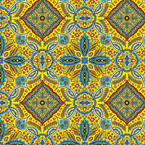 10 in Bohemian Kaleidoscope