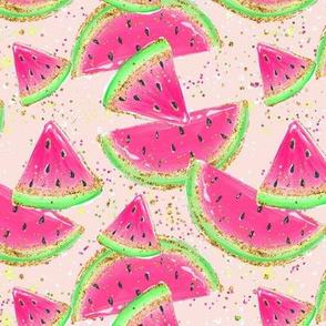 Temporary size change Watermelon blush