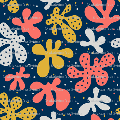 Coral flowers