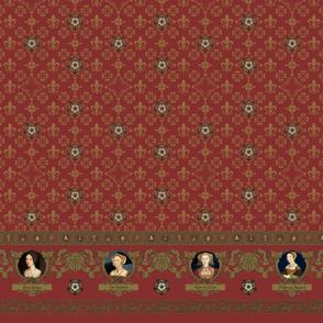 Tudor Wives - Crimson