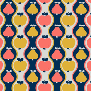 Funky Pear and Apple