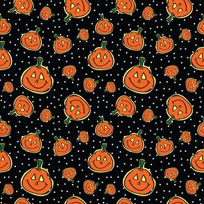 Pumpkin Smiley Face