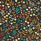 Fall Floral Field