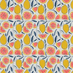 Lemony grapefruits