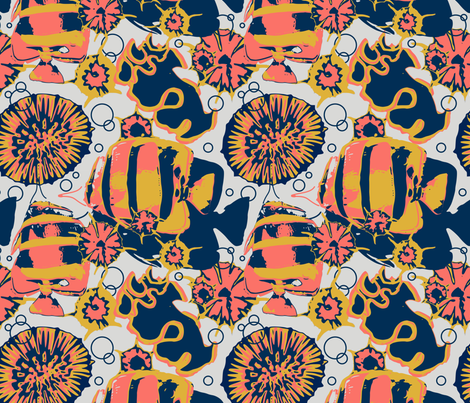corallimited fabric by katonthewalk on Spoonflower - custom fabric