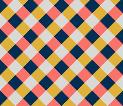 Checker fabric by kimsa on Spoonflower - custom fabric