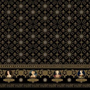 Tudor Wives - Black