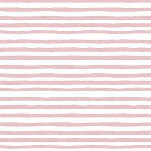 Blushing rose stripes