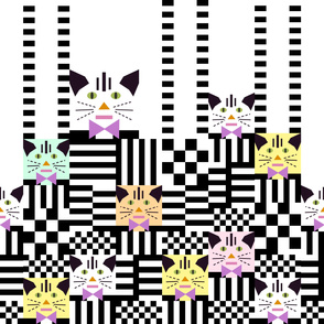 Tabby Cat Pile