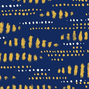 blue and gold pattern