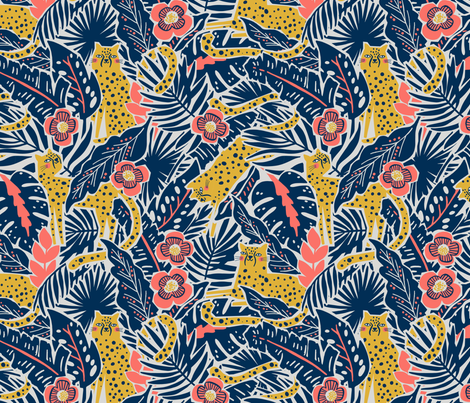 stay wild fabric by andrea_duhon_anderson on Spoonflower - custom fabric
