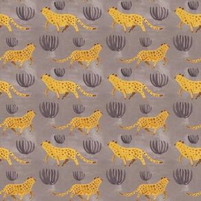Leopard Repeat Light Seamless