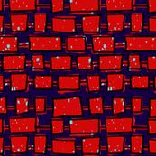 Funky Red Bricks