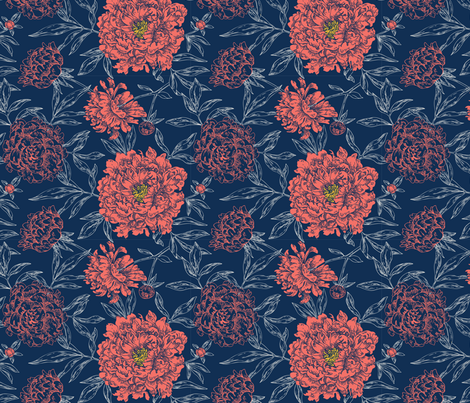 limited-palette fabric by khulani on Spoonflower - custom fabric