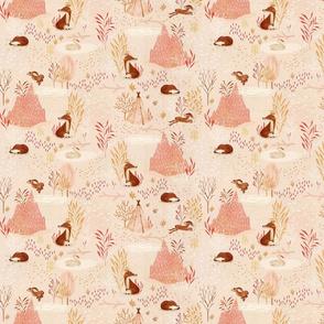 Fox whispers {blush} small