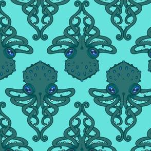 Octopus Diamond Damask 2