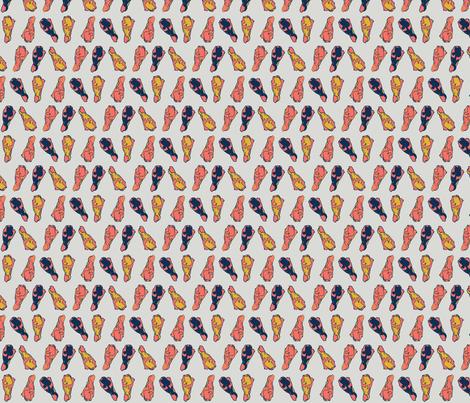 Pantone Wings fabric by yvanthi on Spoonflower - custom fabric