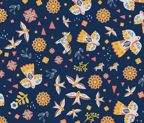 limited palette-sophie rohrbach fabric by un_petit_bird on Spoonflower - custom fabric