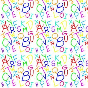 Alphabet Soup (smaller) - white