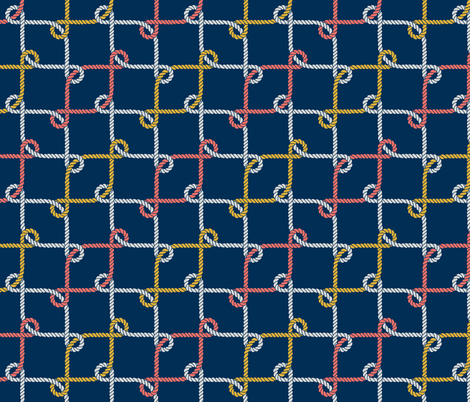 Colorful Loops Pattern fabric by anastasiia_macaluso on Spoonflower - custom fabric