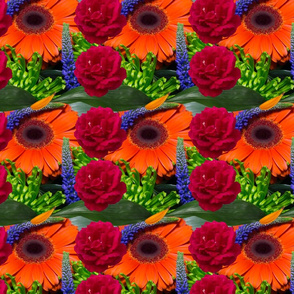 Summer Floral Photo Collage