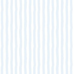 """8"""" Charlie The Bear Mix and Match Stripes - Light Blue & White - 90 Degrees"""