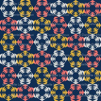 Bold Hexagon