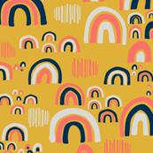 Playful Rainbows - Yellow