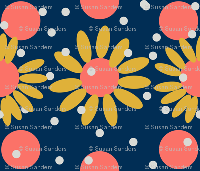 Daisies With Dots-ed