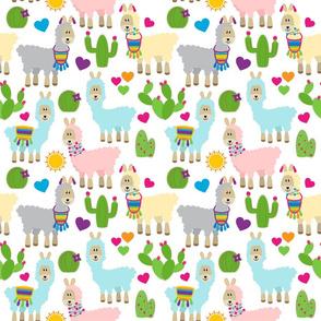 Pastel Llamas