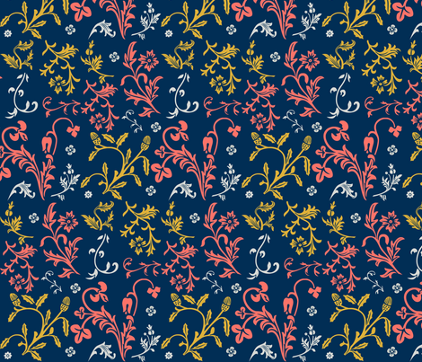 Filigree fabric by kindlemade on Spoonflower - custom fabric