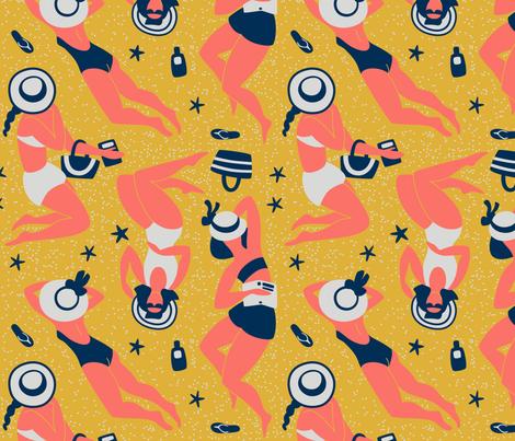 summer time fabric by ninanaina on Spoonflower - custom fabric
