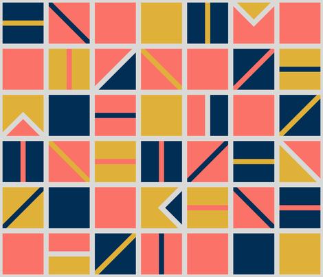 Patchwork fabric by hiirikki on Spoonflower - custom fabric