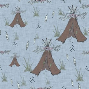 Meadow Grass Teepee