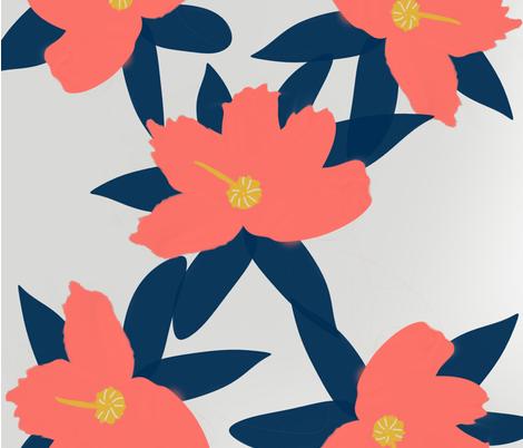 coral2019 fabric by suzy_q_designs_studio on Spoonflower - custom fabric