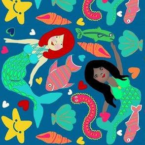 A Tale of Friendship & Adventure / Mermaids & Sea Critters / girls