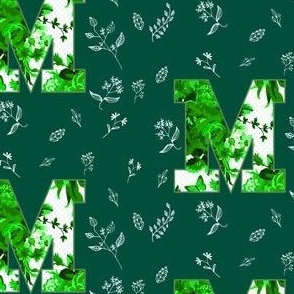 "4"" M Green back"