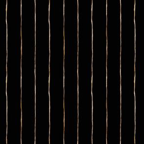 Pin-Stripe-black rose gold