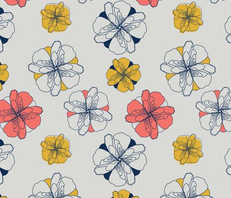 Springtime Floral fabric by svaeth on Spoonflower - custom fabric