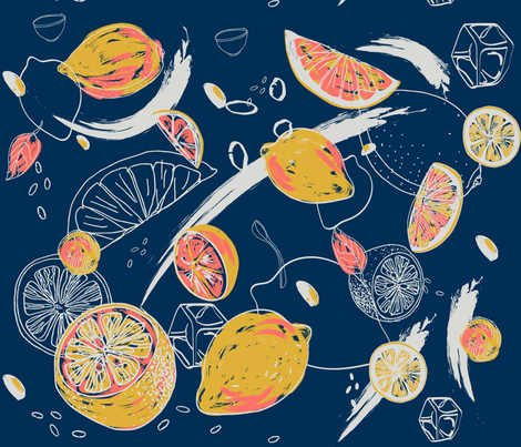 Main Squeeze fabric by lizlovin on Spoonflower - custom fabric