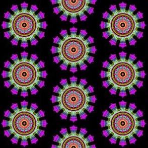 I love purple mandala