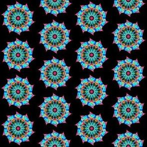 Pinwheel mandala
