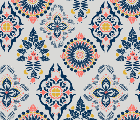 Morocco LTD fabric by gingerlique on Spoonflower - custom fabric