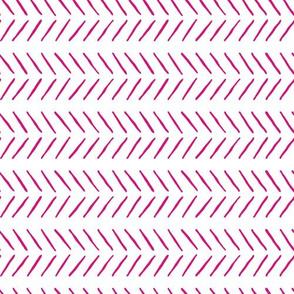 pink inky horizontal herringbone