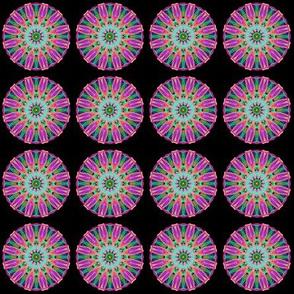 Petal pink mandala