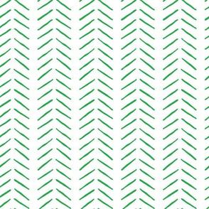 green inky vertical herringbone