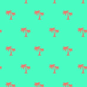 PALM TREE PARADISE SPOONFLOWER