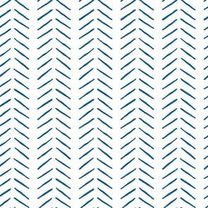 navy blue inky vertical herringbone