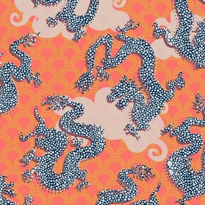 Paper Dragon Cutouts