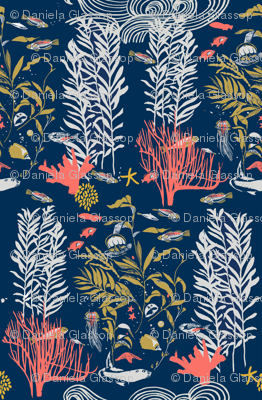 Kelp Forest With Coral